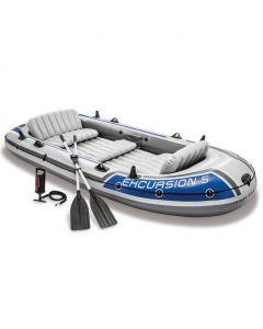 Opblaasboot Intex Excursion 5-set