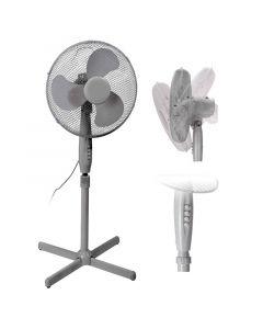 Ventilator Staand 40cm Wit