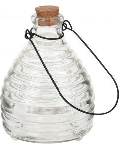 Wespenvanger glas transparant