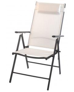 Vouwstoel hoog wit