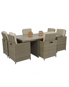 Loungeset Pure Garden & Living Cube XL - Taupe