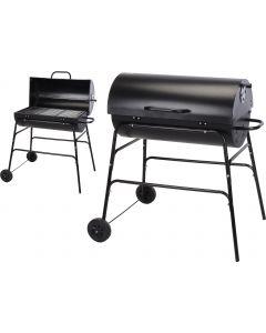 Houtskoolbarbecue cilindervorm