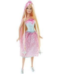 Barbie Bijzonder Lang Haar - Prinses Roze