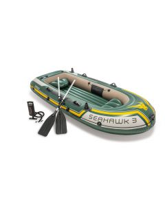 Opblaasboot Intex Seahawk 3-set