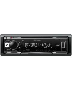 Kenwood KMM-BT502DAB autoradio + gratis bluetooth speaker
