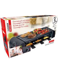 Gourmetgrill en Raclette 6 personen
