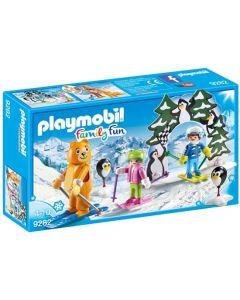 Playmobil - Family Fun - Skischoolpleintje 9282