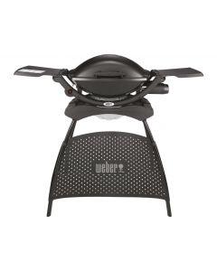 Weber Q2000 stand gasbarbecue zwart