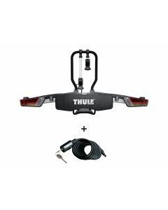 Thule EasyFold XT 2B 933 Fietsendrager + Gratis kabelslot
