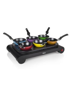 Wokset van 6 wokpannetjes Tristar BP-2827