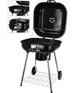 Houtskoolbarbecue vierkant