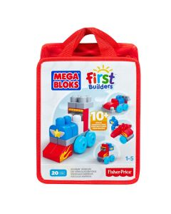 Mega Bloks First Builders supersnelle auto's 20-delig