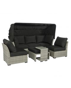 Pure Garden & Living loungeset & lounge eiland wicker