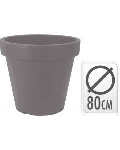 Plastic Bloempot Wit.Bloempotten Assortiment Heuts