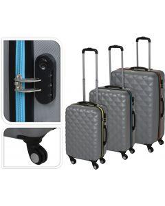 Trolley koffer middel 58x40x24cm