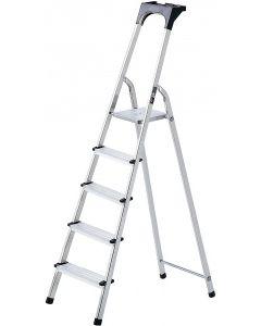 Brennenstuhl Aluminium Huishoudladder 5 treden - 1401250
