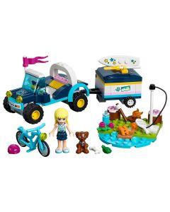 Lego Stephanie's buddy en aanhanger - 41364