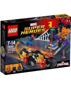 LEGO Super Heroes Spider-Man Ghost Rider Samenwerking - 76058