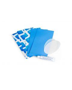 Intex reparatieset blauw