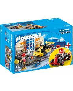 Playmobil StarterSet Karting garage - 6869