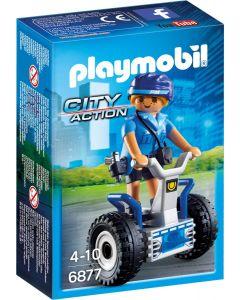 Playmobil Politieagente met balans racer - 6877