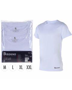 T-shirts Bisogno katoen wit set