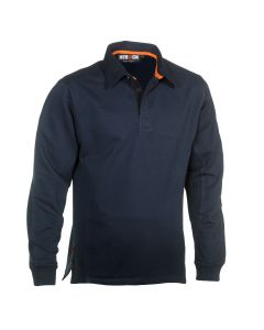 Herock Troja Polo Long Sleeves Navy XXL