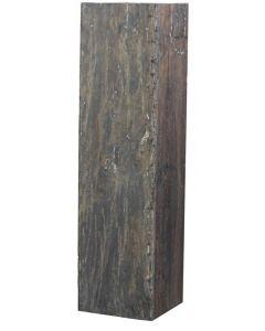Deco Pilaar Natural 28x28x80cm