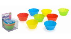 Siliconen Cupecakevormen - 8 stuks