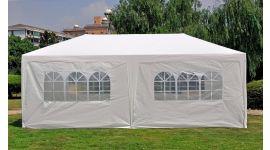 Partytent 3x6 meter wit met zijwanden Pure Garden & Living