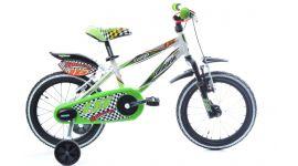 Lombardo - Fuego | Kinderfiets 16 inch jongens groen