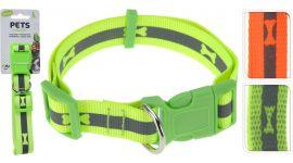 Hondenhalsband groot neon