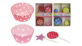 Cupcake versieringen 48-delig