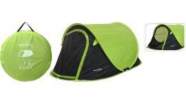Pop-up kampeertent 1-persoons groen