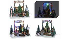 Kersttafereel met LED verlichting