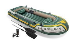 Opblaasboot Intex - Seahawk 4 Set