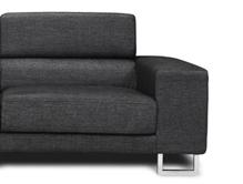 2 zits bank birmingham zwart meubels heuts.nl