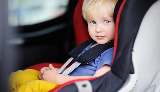 Autostoel ECE R44 norm